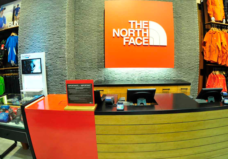 tienda north face costanera center
